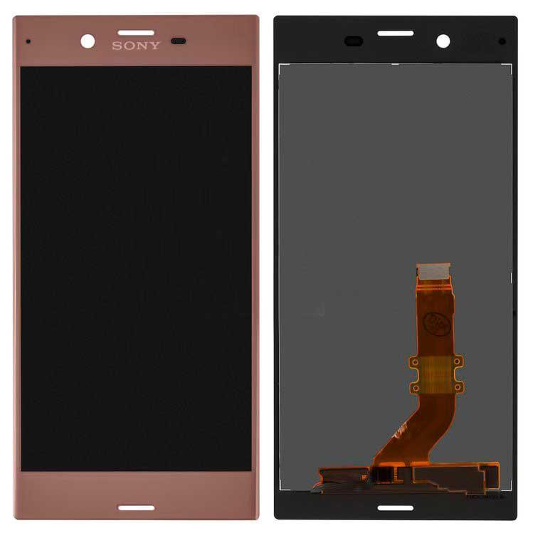 Дисплей Sony F8331 Xperia XZ / F8332 с сенсором, розовый