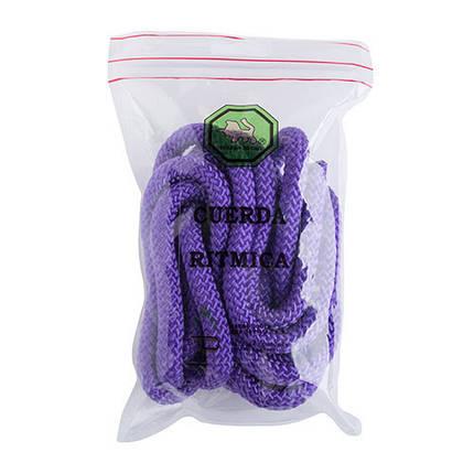 Скакалка гимнастическая фиолетовая 3м, Испания, фото 2