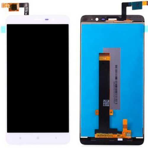 Дисплей Xiaomi Redmi Note 3 / Redmi Note 3 Pro с сенсором, белый, 147x73 мм