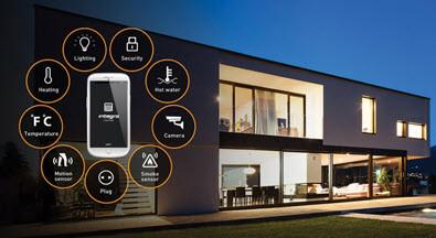 Установка автономной охранной сигнализации для жилого дома большого размера