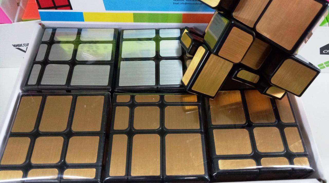 """Кубик Рубика 3*3*3 """"Зеркало"""" Неполная упаковка"""