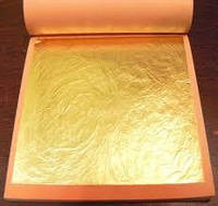 Сусальное золото (1 лист) 14*14 см