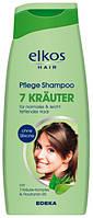 Шампунь для нормальных и склонных к жирности волос elkos  7 Kräuter