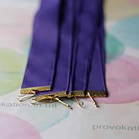 Лента для медалей и наград, Фиолетовая, 25мм, 75см