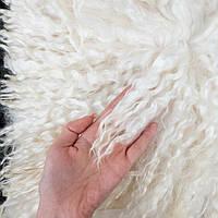 Ангорская козочка Отличный Локон на шкуре для кукольных волос, длина 21-22 см - размер 5*10 см