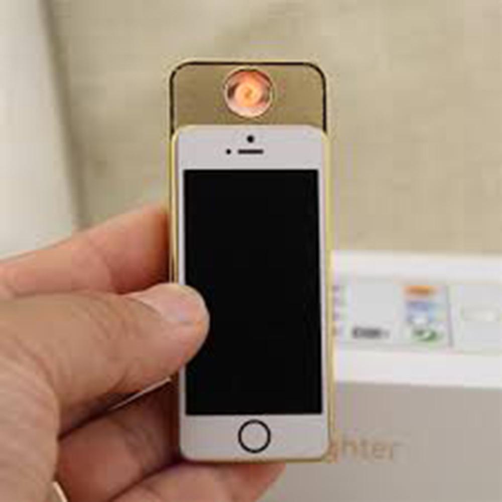 Электроимпульсная спиральная зажигалка — LIGHTER Classic Fashionable Iphone