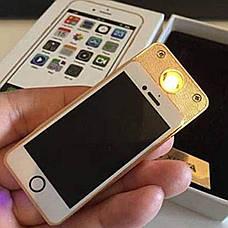 Электроимпульсная спиральная зажигалка — LIGHTER Classic Fashionable Iphone, фото 2