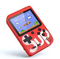 Ретро игровая приставка (Игровая консоль) Game Box sup 400 игр в 1 Red #S/O