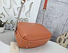Женская сумка-клатч оранжевого цвета, эко кожа, фото 8