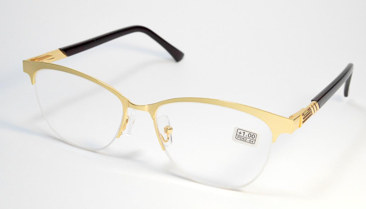 Женские очки в металле (МС 352 зол)