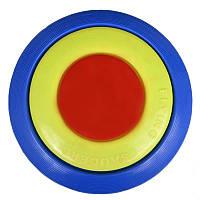 Фрисби - летающая тарелка (d 23см), радуга