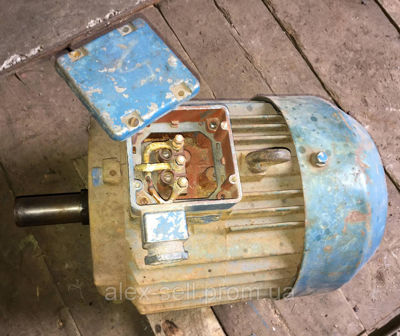 Электродвигатель електродвигун  АИР 132 S6 5,5 кВт 1000 об/мин.