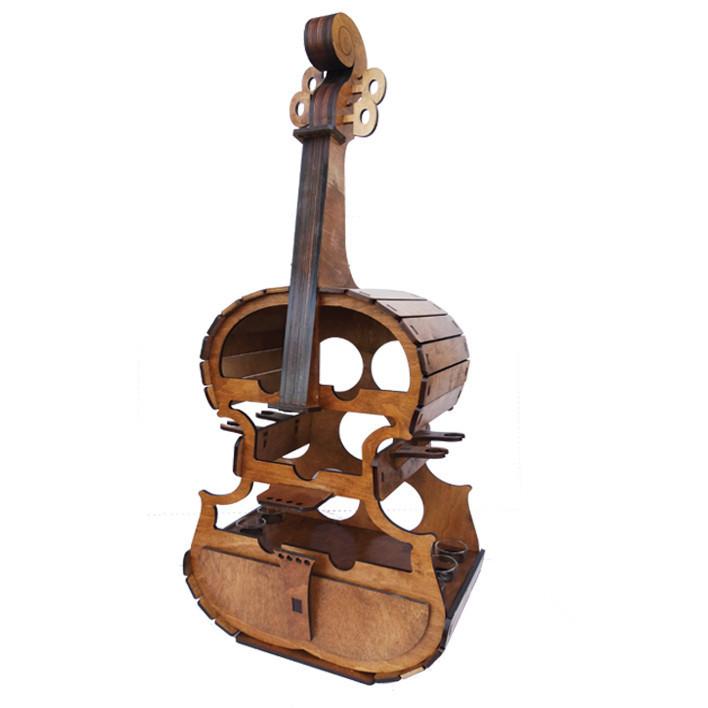 Міні-бар віолончель із чарками В-014