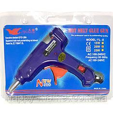 Пистолет для термо клея  (0.7 см 100W) с кнопкой YL-E20W