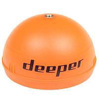 Накладка на эхолот для ночной рыбалки Deeper, оранжевая