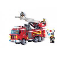 """Детский конструктор """"Пожарная команда"""" Brick 904, 364 детали"""