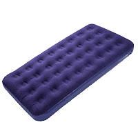 Матрас надувной КЕМПИНГ Twin CMG (185x96x22см), одноместный, синий