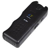 2 в 1 Отпугиватель собак ультразвуковой + фонарик ZF-851E (130dB, 9V Крона)