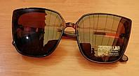 Очки polarized, солнцезащитные женские. Цвет коричневый, фото 1