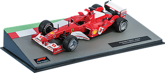 Formula 1 Auto Collection №25 - Ferrari F2004 - Рубенс Баррікелло (2004) | Колекційна модель 1:43 | Centauria