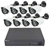 Комплект видеонаблюдения Melad на 8 камер 2 mp Full HD KIT (14082)