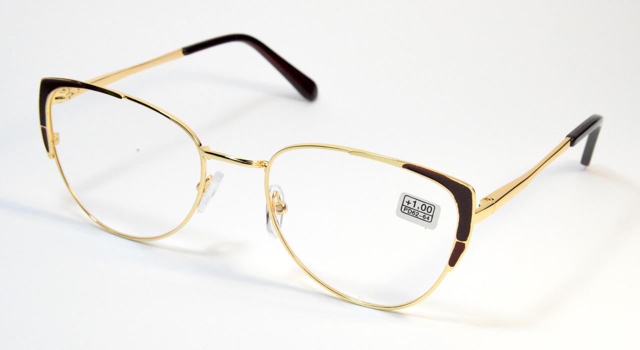 Женские очки в металле (МС 107 зол)