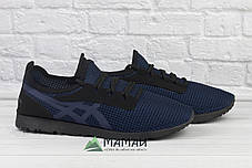 Кросівки чоловічі сітка сині 40р, фото 3