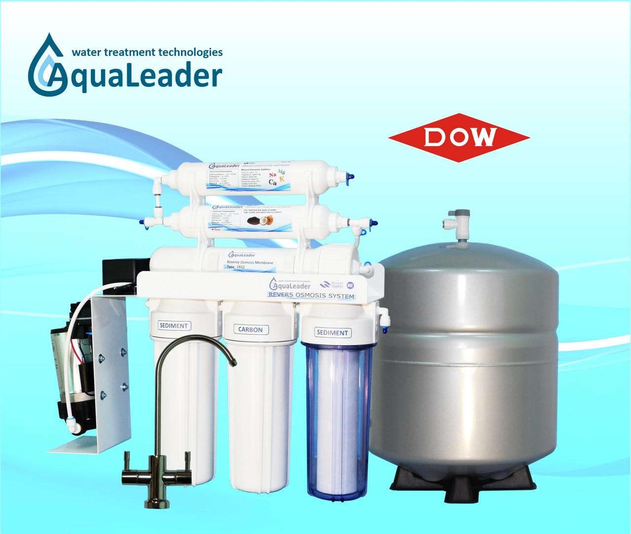 Система зворотного осмосу з помпою AquaLeader RO-6 LX pump