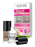 EVELINE cosmetics 2 х 5 мл PROFESSIONAL FRENCH MANICURE SUPER DUET №1