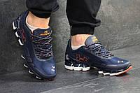 Мужские кроссовки Under Armour Scorpio. Темно синие с оранжевым. Код товара: Д - 4883