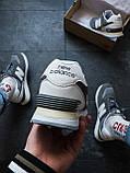 Кроссовки женские New Balance 574 Топ реплика Серые, фото 5