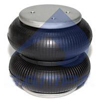 Пневморессора балонного типа с плитой 220x206 SAF 2C 21-210 P22 отв.накрест ( SAMPA ) SP 55220-2P08