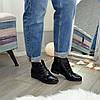 Ботинки женские лаковые на шнуровке, фото 5