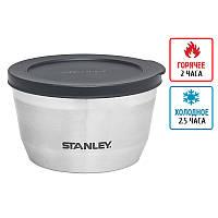 Термоконтейнер для еды Stanley Adventure Bowl (0.53л), стальной