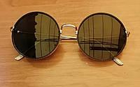 Круглые солнцезащитные, женские очки
