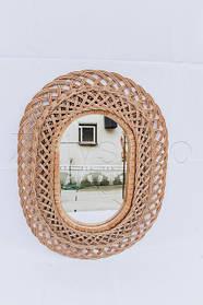 Зеркала плетеные из лозы