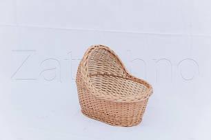 Колыбели плетеные, детские кроватки из лозы