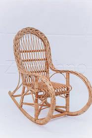 Кресла-качалки плетеные из лозы