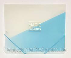 Папка пластиковая формат А4 на резинке WB410
