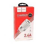СЗУ Hoco C55A Energy dual port charger(EU) White, фото 2