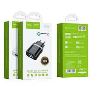 СЗУ Hoco C12Q Smart QC3.0 charger (EU) White, фото 2