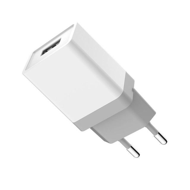 СЗУ Golf GF-U1EU Travel charger EU plug 1USB 1A White