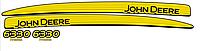Комплект наклеек на трактор John Deere 6330 premium