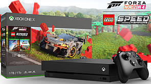Консоль  Xbox One X + Forza Horizon 4 LEGO Speed Champions