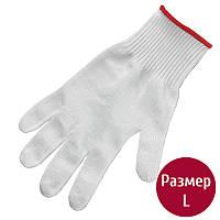 Перчатки защитные Victorinox Soft-Cut Resistan (р.L), серые 79036
