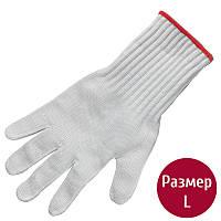 Перчатки защитные Victorinox Heavy-Cut Resistant (р.L), серые 79037