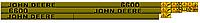 Комплект наклеек на трактор John Deere 6600