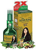 100% натуральна аюрведична олійка для вирішення проблем з випадінням волосся (+ подарунок) KESH KING 100ml, фото 1