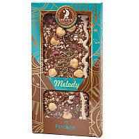 Шоколад молочный Shoud'e Melody Рапсодия (фундук, цукаты, розмарин, изюм, 100г)