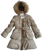 Пальто kiko 1312 70% пух, 30% перо размеры 134-164 (6)